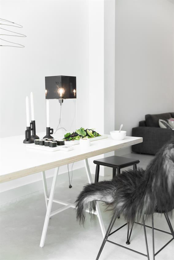 HKliving rotan stoel zwart -5411