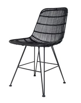 rotan-stoel-zwart-rat0011-hkliving-dining-chair