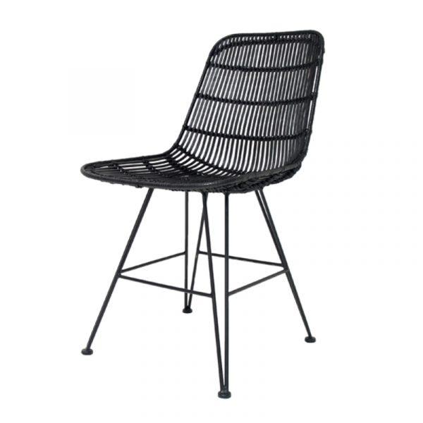 rotan-stoel-zwart-rat0011-hkliving-dining-chair