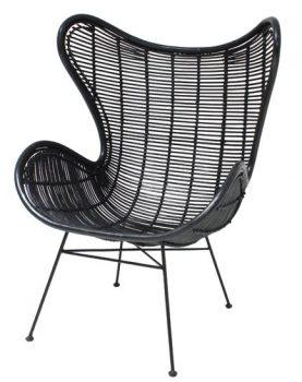 HKliving-egg-stoel-zwart-rotan-rieten-fauteuil-RAT0008