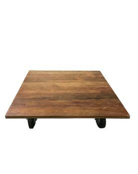 SILT 'n Pure salontafel teak op wielen -26699