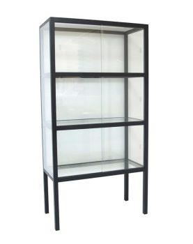hkliving-vitrinekast-hout-glas-zwart-industrieel-FUR0023