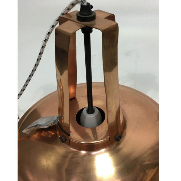 """HK-living hanglamp L """"Workshop"""" koper (beshchadigd)-9574"""