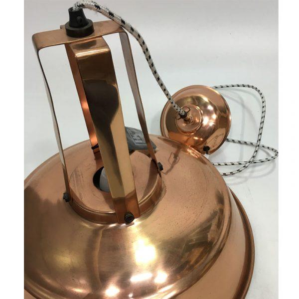 """HK-living hanglamp L """"Workshop"""" koper (beshchadigd)-9575"""