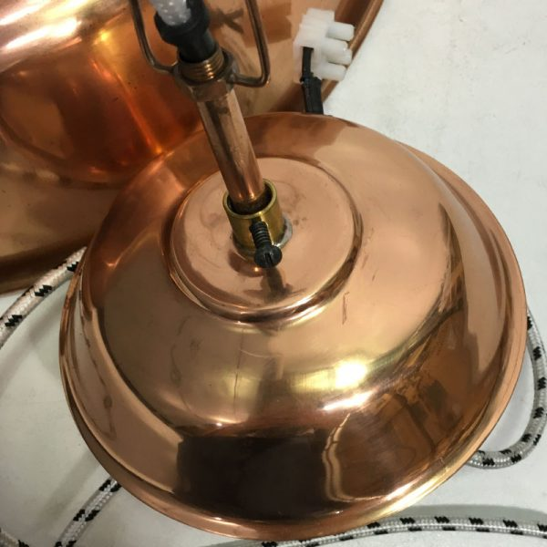 """HK-living hanglamp L """"Workshop"""" koper (beshchadigd)-9577"""