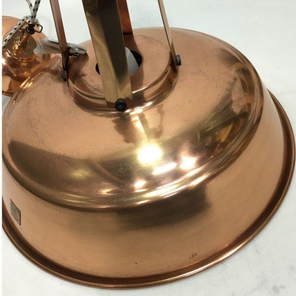 """HK-living hanglamp L """"Workshop"""" koper (beshchadigd)-9573"""