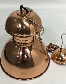 "HK-living hanglamp L ""Warehouse"" koper Ø42cm (beschadigd)-0"