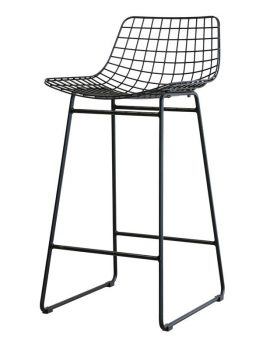 barstoel-kruk-hkliving-keuken-zwart-wit-metaal-draad-MZM4004