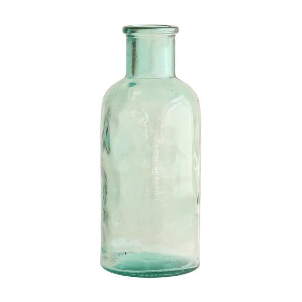 hk-living-glazen-vaas-fles-groen-AGL4007