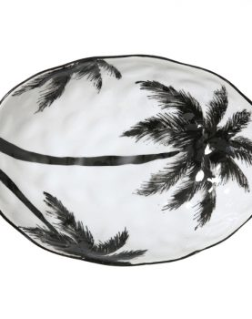 hk-living-schaal-palms-palbomen-zwart-wit-porselein-jungle-ace6021