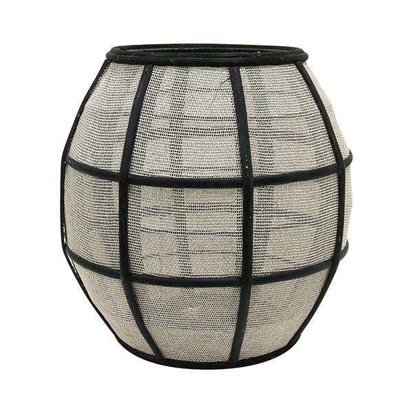 hkliving-lantaarn-bamboe-zwart-naturel-stof-aka3004-villajipp