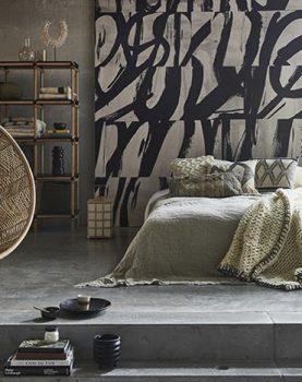 hk-living-sfeerfoto-hangstoel-bal-bohemian-gevlochten-rotan-patroon-naturel