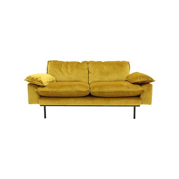 hkliving-bank-sofa-fluweel-oker-tweezits-2zits-175x83x95cm-MZM4635