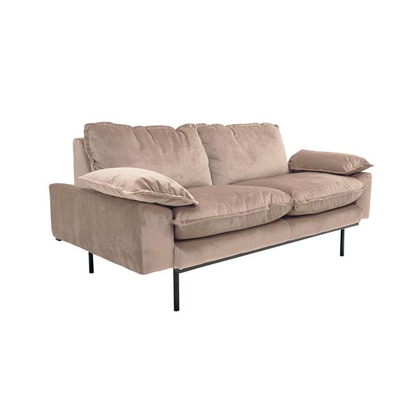hkliving-bank-sofa-retro-velvet-fluweel-nude-roze-tweezits-2-zits-175x83x95cm-MZM4641