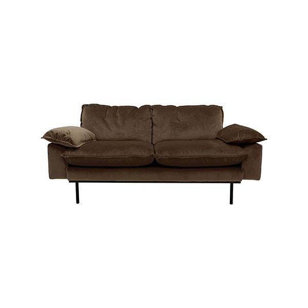 hkliving-retro-sofa-bank-fluweel-hazel-bruin-tweezits-2zits-175x83x95cm-MZM4638