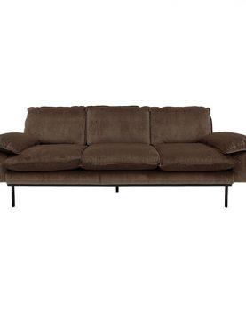 hkliving-sofa-fluweel-hazel-bruin-driezits-3zits-MZM4637-225x83x95cm-villajipp