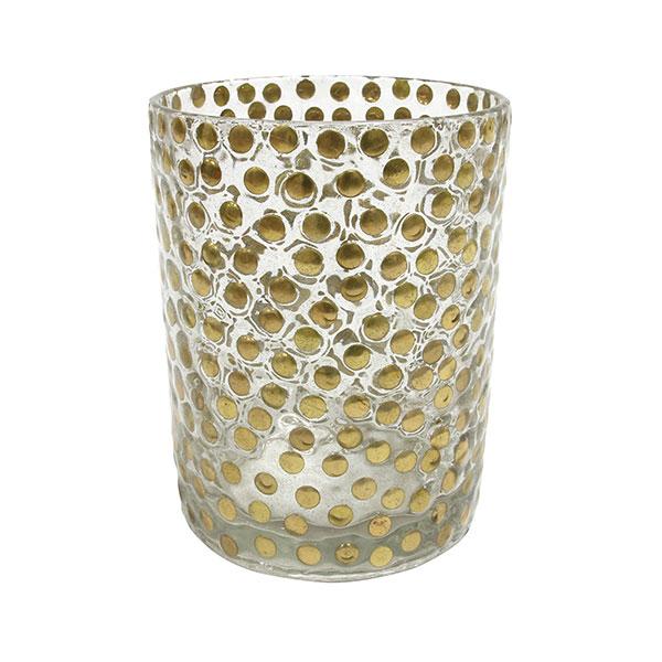 hkliving-waxinelichthouder-glas-handgemaakt-messing-studs-10x10x12,5cm-AKA3323