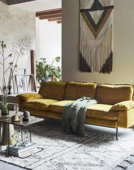 HKliving-sfeerfoto-berber-vloerkleed-wit-grijs-patroon-TTK3018
