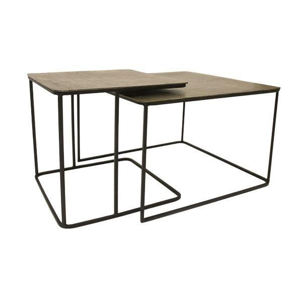 hkliving-salontafel-bijzettafel-set-van-2-ijzer-messing-hout-MTA2812