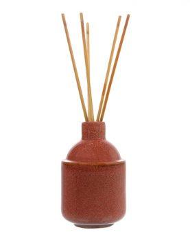 hk-living-geurstokjes-keramiek-vaasje-roodbruin-aka3329