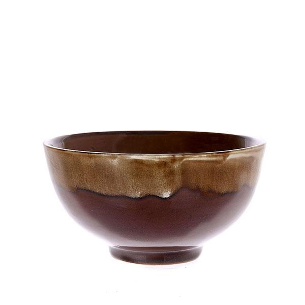 hkliving-schaal-bruin-dripping-effect-kyoto-keramiek-ace6715