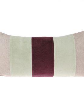 hkliving-kussen-velvet-mint-cerise-banen-30x60cm-tku2063