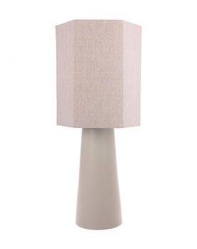 HKliving lampenvoet cone kegelvormig mat nude 22x22x57cm -14541
