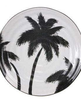 hkliving-serveerbord-bord-bordje-jungle-palmbomen-porselein-ace6732