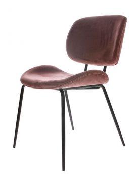 hkliving-eetkamerstoel-stoel-velvet-old-pink-48x62,5x85,5cm-MSK3702