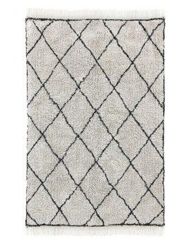 HKliving vloerkleed diamant patroon katoen 180x120cm-0