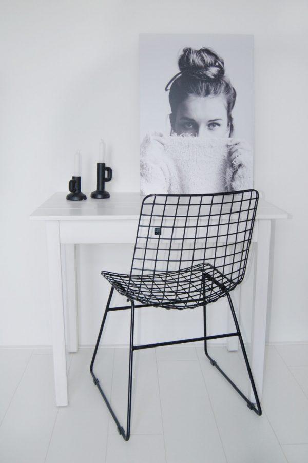 Silt 'n Pure kloostertafeltje - kleine tafel wit hout-26623