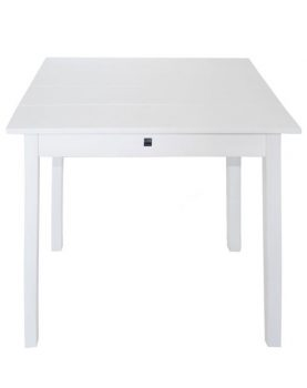 Silt 'n Pure kloostertafeltje - kleine tafel wit hout-26645