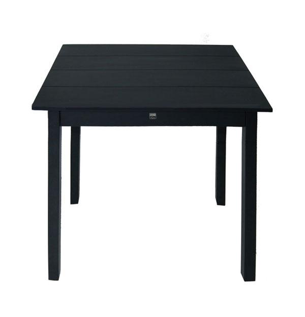 Silt 'n Pure kloostertafeltje - kleine tafel mat zwart hout-26644