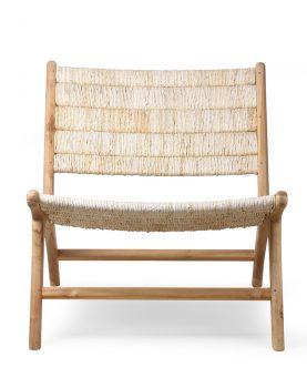 hkliving-loungestoel-abaca-teak-hout-naturel-65x75x70cm