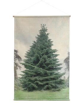 HK-living-poster-canvas-perfect-christmas-tree-kerstboom-XL-schoolplaat-AWD8016