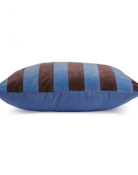 hkliving-gestreept-velvet-kussen-blauw-paars-tku2077