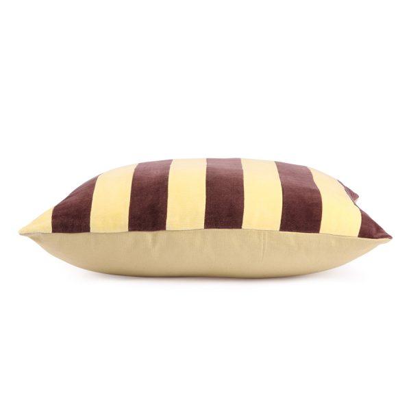 hkliving-kussen-gestreept-geel-paars-velvet-8718921029797-tku2077