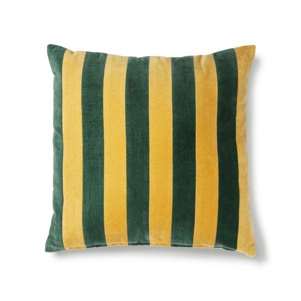 hkliving-kussen-gestreept-velvet-groen-mosterd-8718921029773-tku2076.