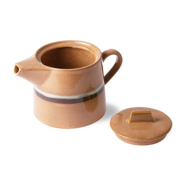 HKliving theepot stream peach seventies stijl-27478