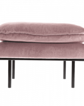 hkliving-hocker-bank-sofa-velvet-fluweel-oker-geel-mzm4637