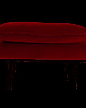 hkliving-hocker-bank-sofa-velvet-fluweel-oker-geel-mzm4637