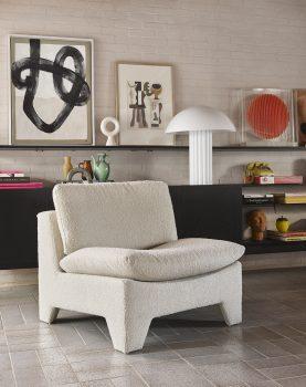 orange circle art frame-28509