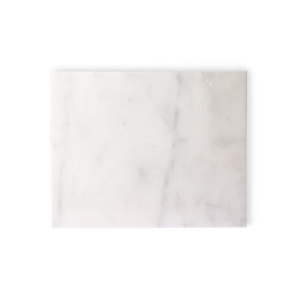 marble cutting board white polished-0