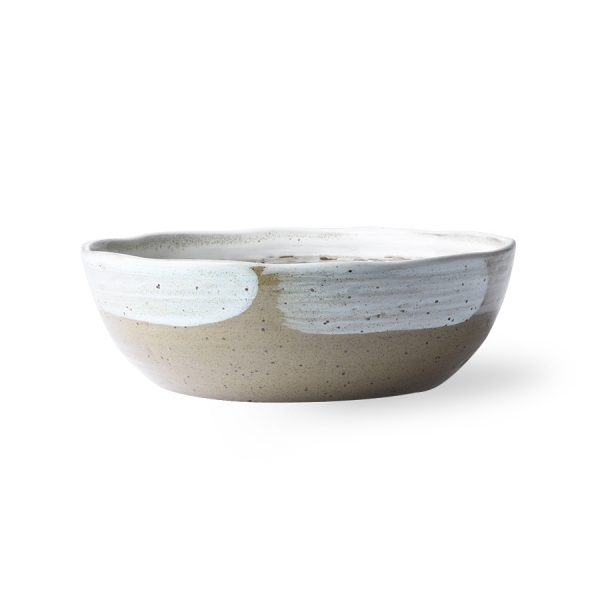 kyoto ceramics: brushed noodle bowl-27815