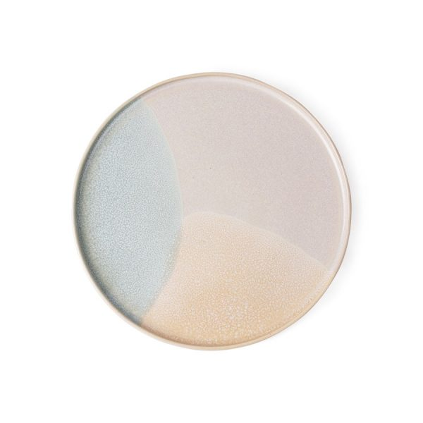 gallery ceramics: round side plate mint/nude-0