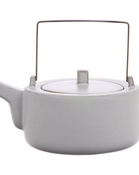 kyoto ceramics: tea pot white-0