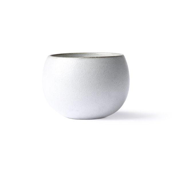kyoto ceramics: ball mug white-0