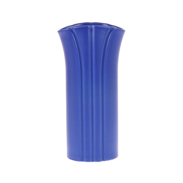 flower vase S matt cobalt-0