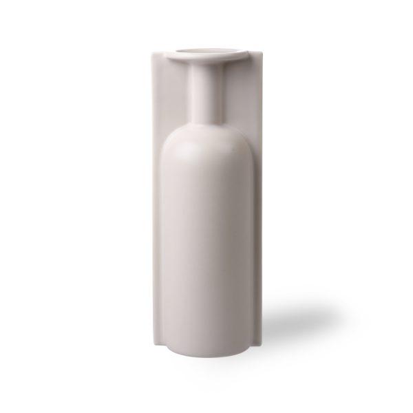 HKliving mold shape flower vase L matt skin-0