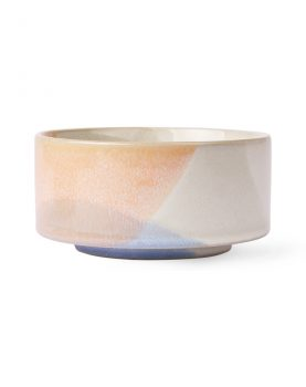 gallery ceramics: bowl blue/peach-0